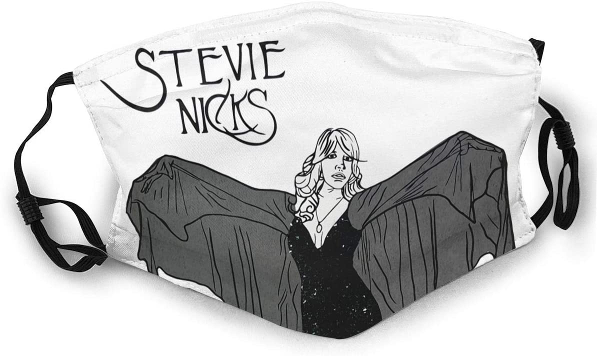 Zhengyu Stevie Nicks Very Soft, Breathable Double-Sided Printed Dust Mask