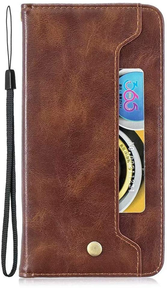 Luckyandery Galaxy A20 Wallet case,Galaxy A20 Case Card Holder Leather, Leather Wallet Case,Flip Case Cover with Stand Function & Credit Card Slots for Samsung Galaxy A20