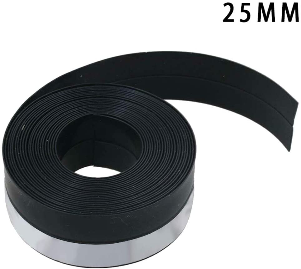 Openuye 6 Meters Door Bottom Self Adhesive Weather Stripping Sticker Silicone Soundproof Window Seal Strip 25/35/45mm