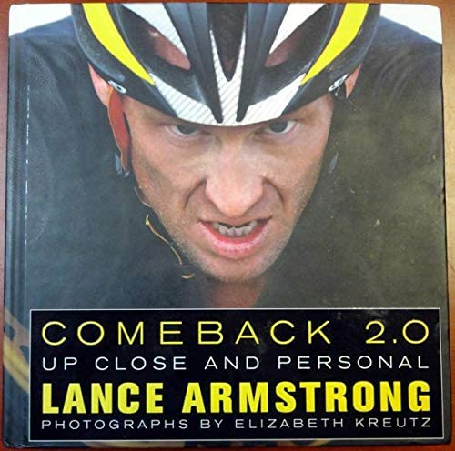 Lance Armstrong Autographed Book #J38038 - PSA/DNA Certified - Autographed Sports Magazines