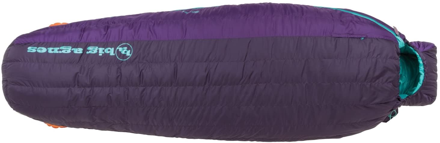 Big Agnes - Ethel 0 Sleeping Bag with DownTek, Petite Legnth, Right Zipper