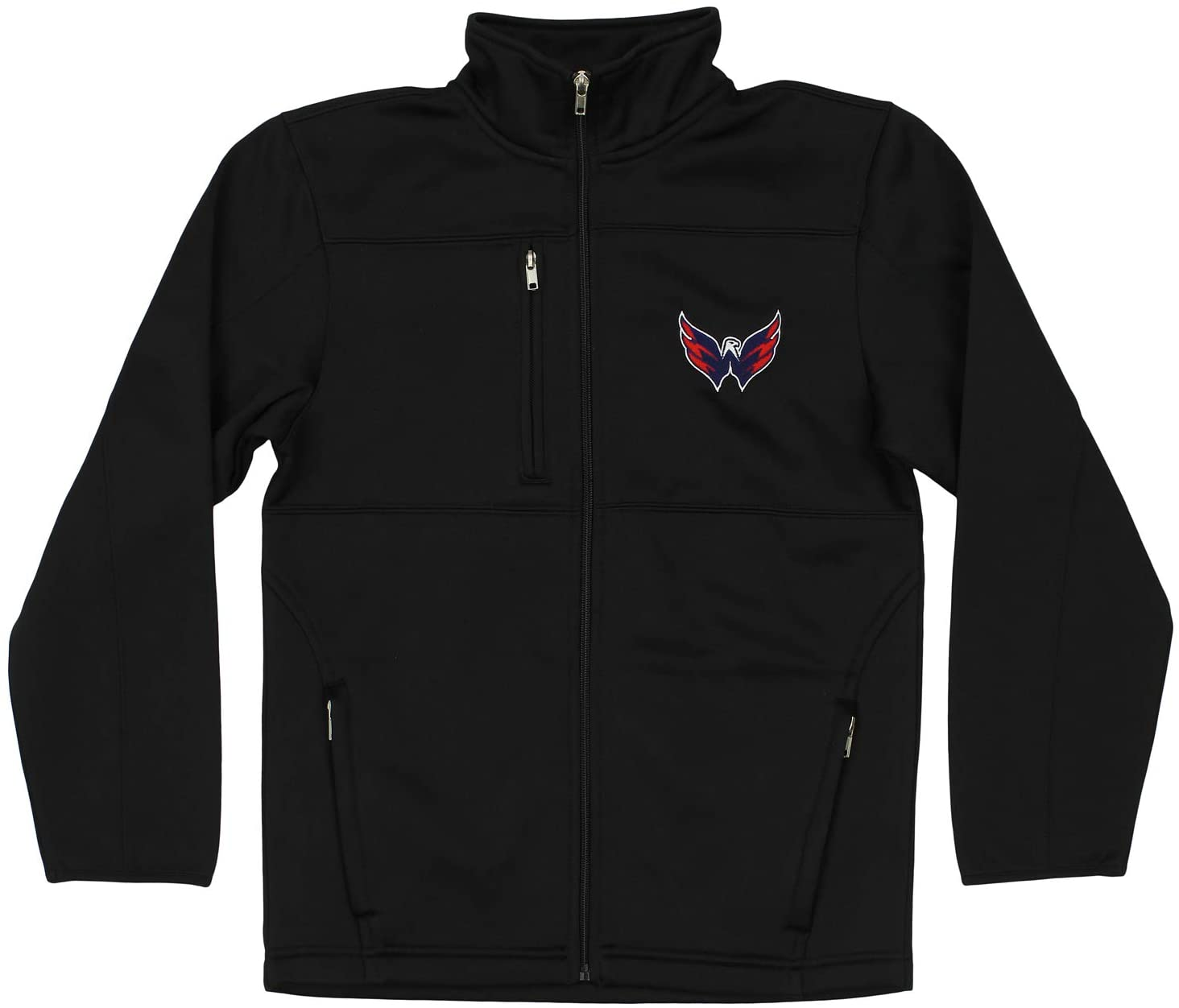 OuterStuff NHL Youth Boys Washington Capitals Bonded Fleece Jacket