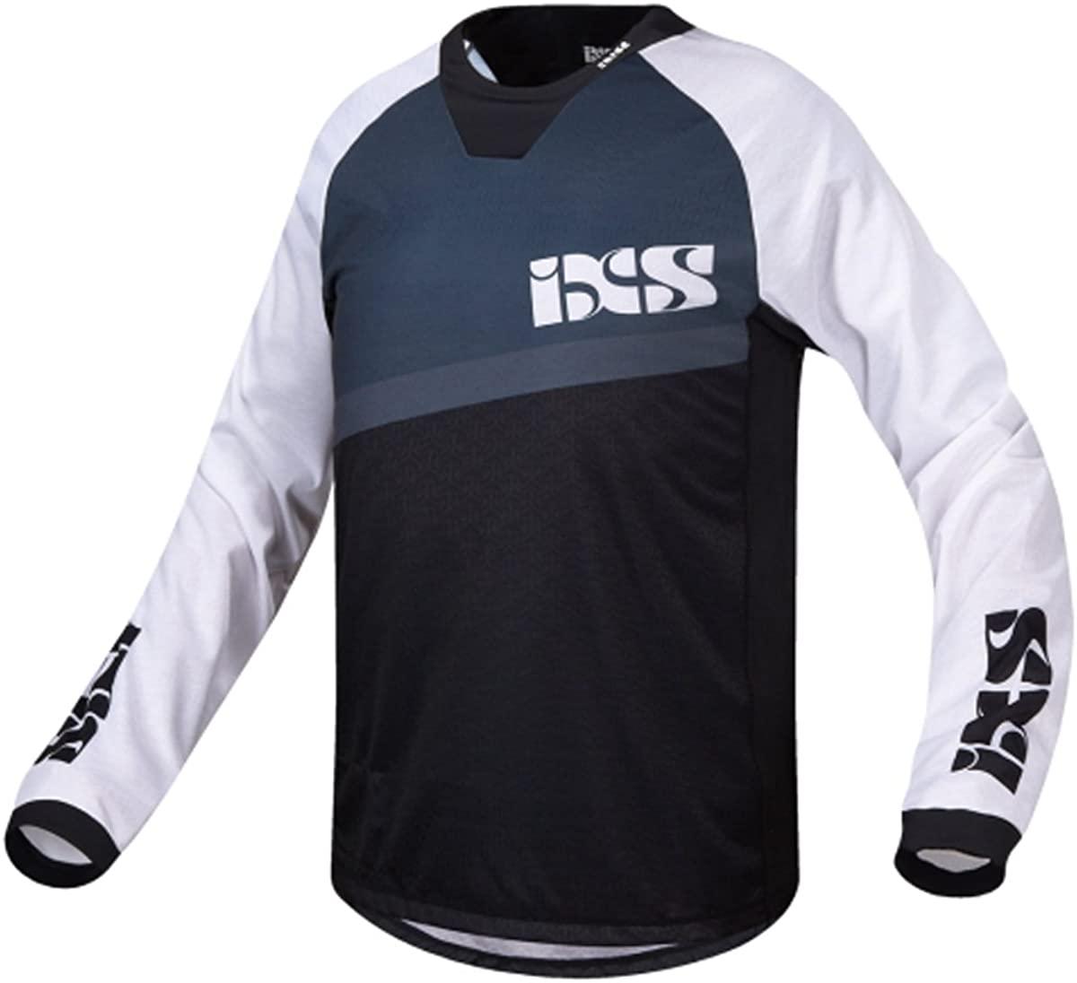 IXS Men's Pivot 6.1 Long Sleeve Downhill Bike Jersey - 473-510-6550