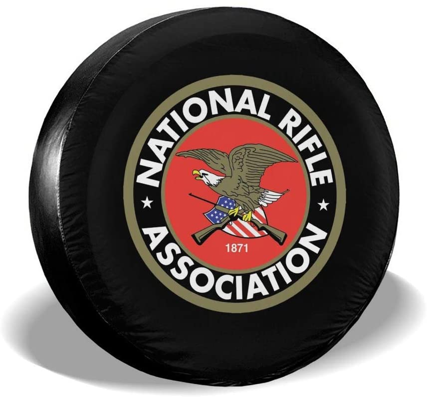 SL6NNG NRA National Rifle Association Classic Accessories Universal Fit Spare Wheel Tire Cover