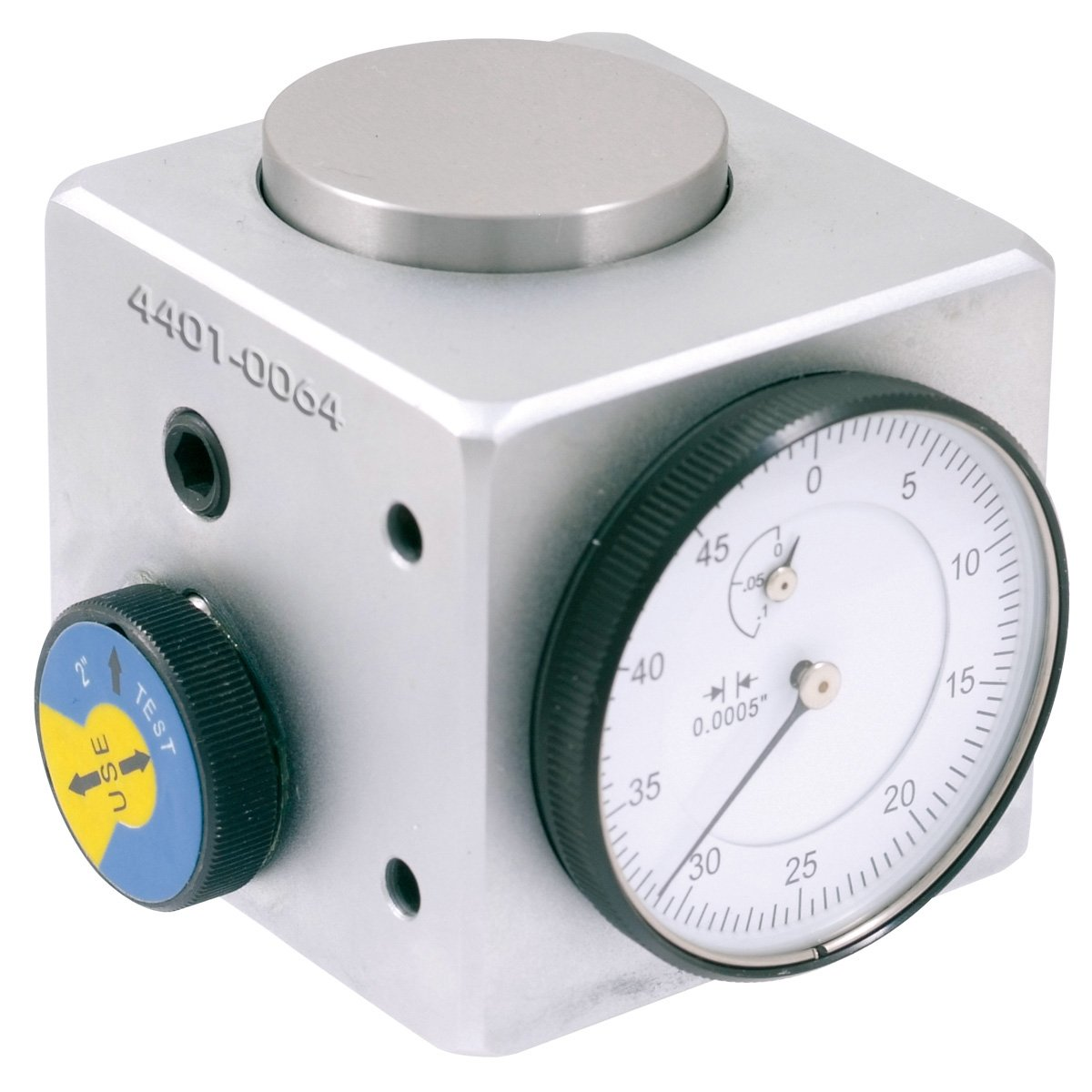 HHIP 4401-0064 Pro-Series Dial Z-Axis Setting Indicator with Mag Base, 2