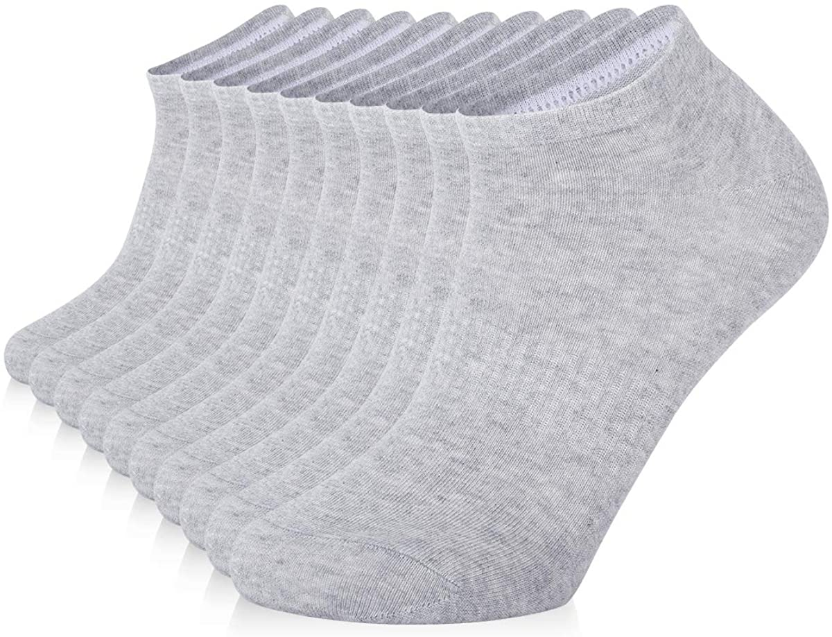 SOX TOWN Cotton Moisture Wicking Breathable No Show Running Socks Unisex for Men and Women