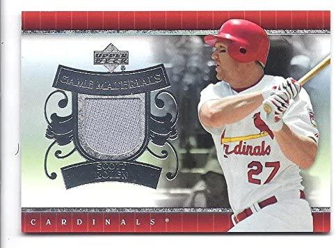 SCOTT ROLEN 2007 Upper Deck UD Game Materials #SR GAME-USED JERSEY Card St. Louis Cardinals Baseball