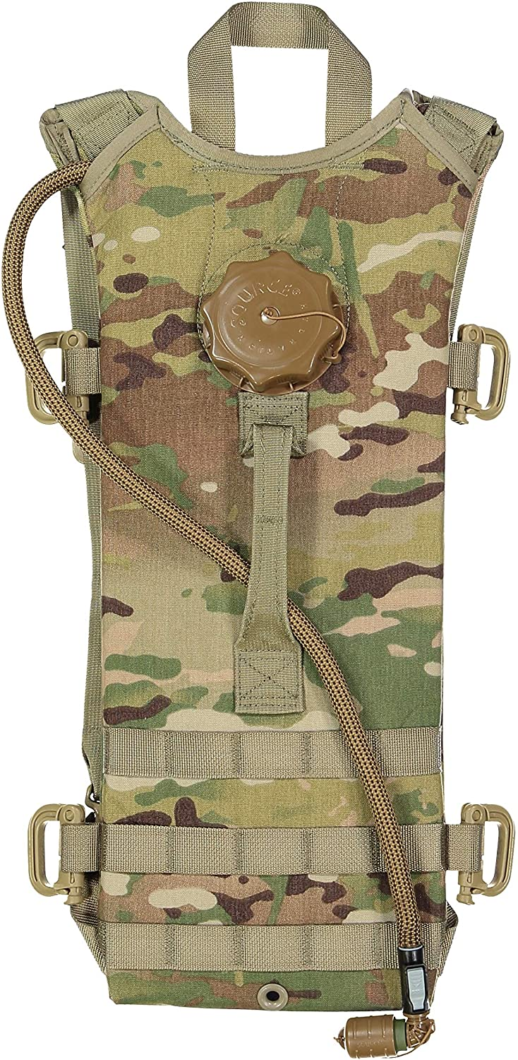 G.I. US Army MOLLE (100 oz.) Hydration Carrier with SOURCE WXP 3L/100oz Bladder