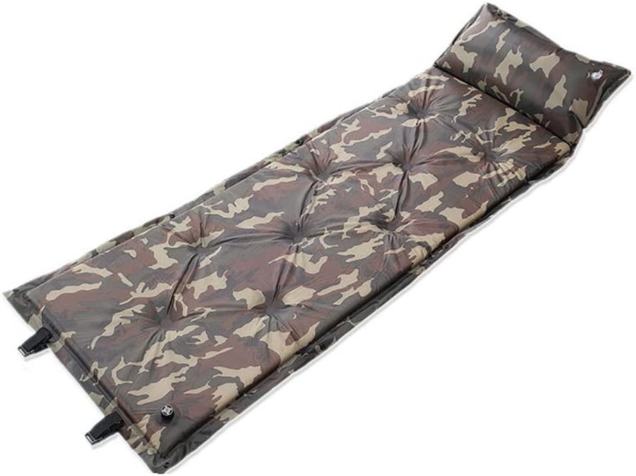 ZPP Thicken Individual Ultralight Widen Since the inflatable Sleeping Mat Moisture Proof Outdoor Beach Camping Inflatable Mattress