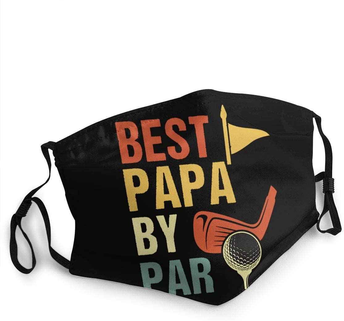 Best Papa by Par Face Cover Fashion Anti- Face Mouth Cover Windproof Adjustable Washable Cover for Outdoor Sports