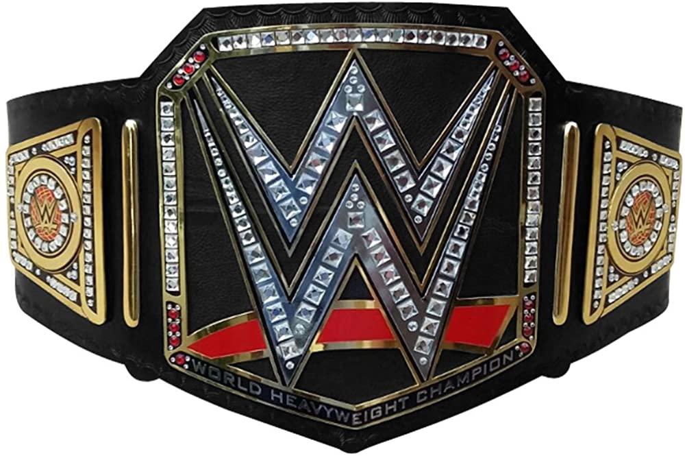 Brand New WWE World Heavy Weight Championship Belt Adult Replica Genuine Leather Title Belts Black