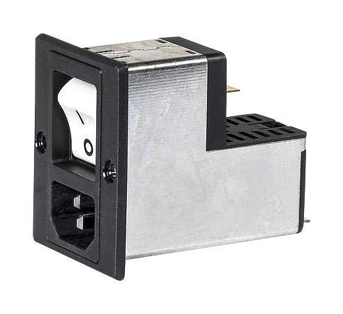 SCHURTER - 3-118-982 - DG12 Power Entry Module W. Filter 10A M5