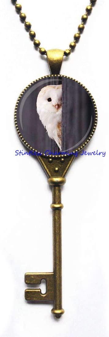 Owl Pendant Owl Bird Key Necklace Owl Jewelry Owl Accessories Wise Bird Pendant Bird Jewelry Everyday Key Necklace Owl Jewellery,Animal Pendant-JV1