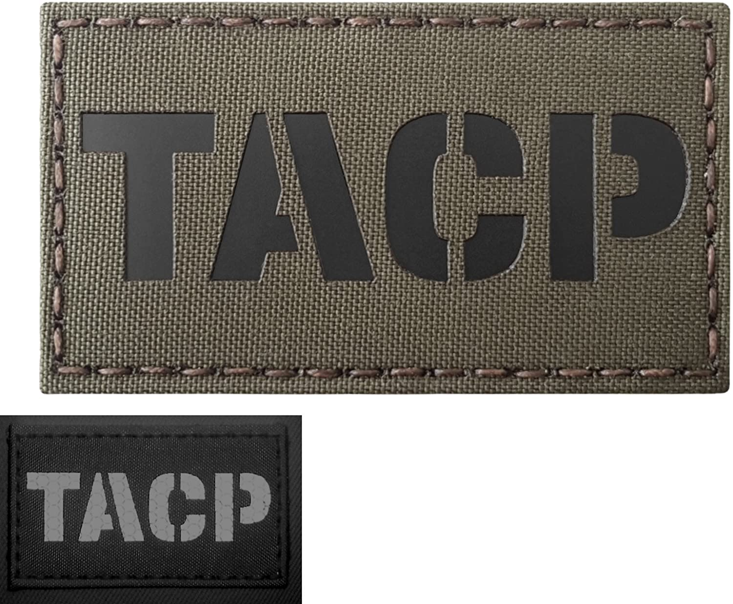 Ranger Green TACP Tactical Air Control Party Air Support AFSOC AFSC 1C4X1 Infrared IR Tactical Hook&Loop Patch