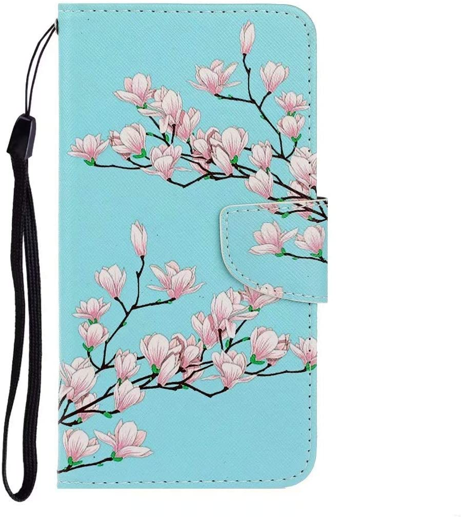 Luckyandery Phone Covers for Huawei Nova 5, Stand Case Folio Book Flip Cover Built-in Card Holder Fit for Huawei Nova 5