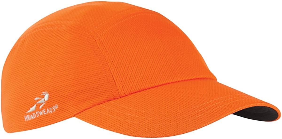 Headsweats Team 365 Performance Race Hat, Sport Orange, One Size