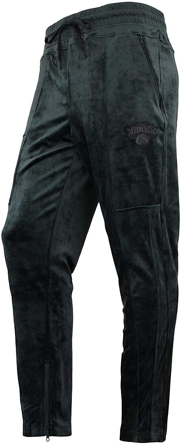 FISLL NBA Men's Hedrix Velour Team Jogger Sweatpants, Team Variation