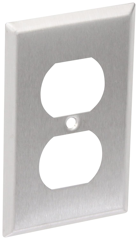 Panduit WPS-20 Grade Rectangular Outlet, Plastic/Metal, Off White