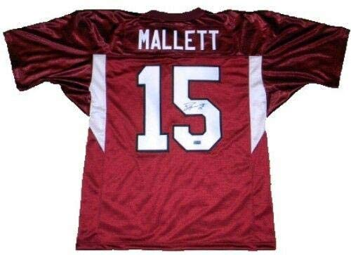 Ryan Mallett Autographed Jersey - #15 Coa - Autographed College Jerseys
