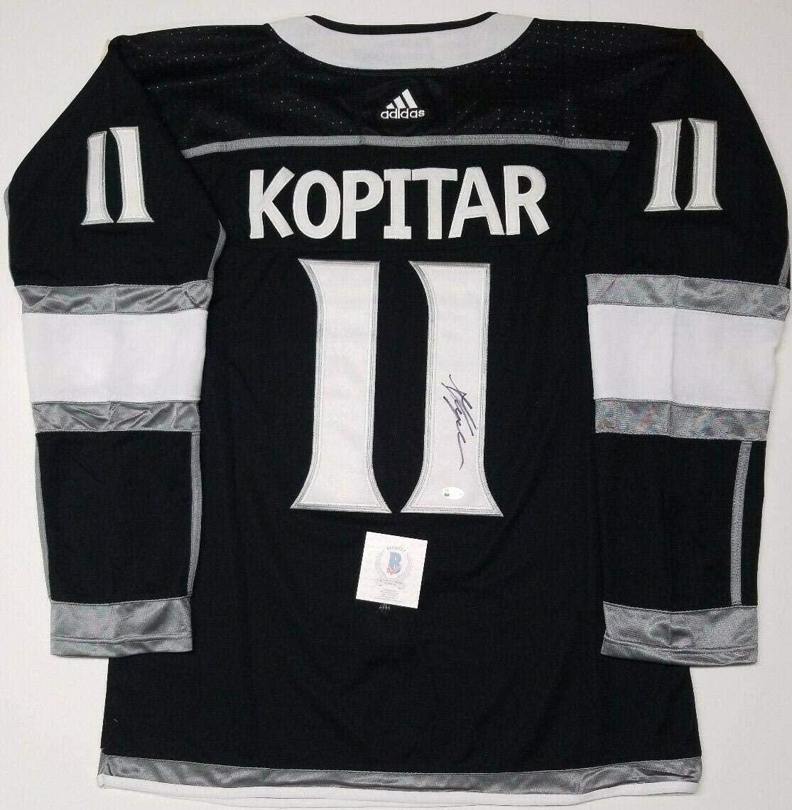 Anze Kopitar Signed Jersey - SZ 54. BECKETT - Beckett Authentication - Autographed NHL Jerseys