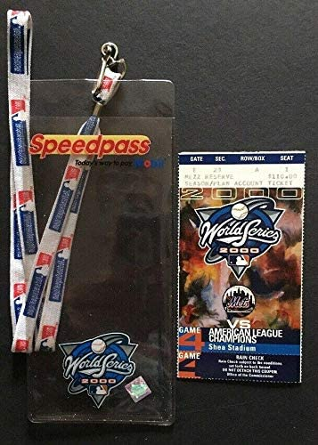 2000 WORLD SERIES GAME 4 TICKET NY YANKEES DEREK JETER 1ST WS HR Mvp Shea Mint - MLB Unsigned Miscellaneous