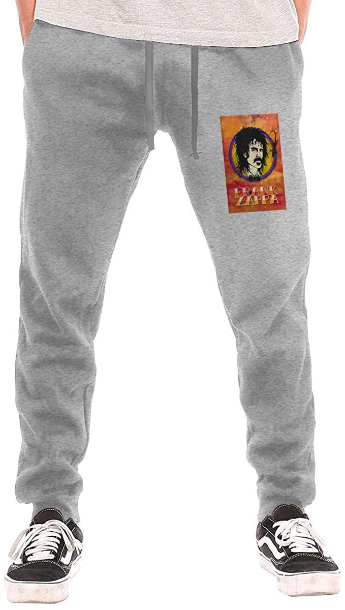 AP.Room Men's Frank Zappa Jogging Trousers Black