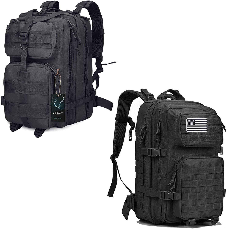 G4Free Tactical Shoulder Backpack Survival Assault Pack 2 Pack