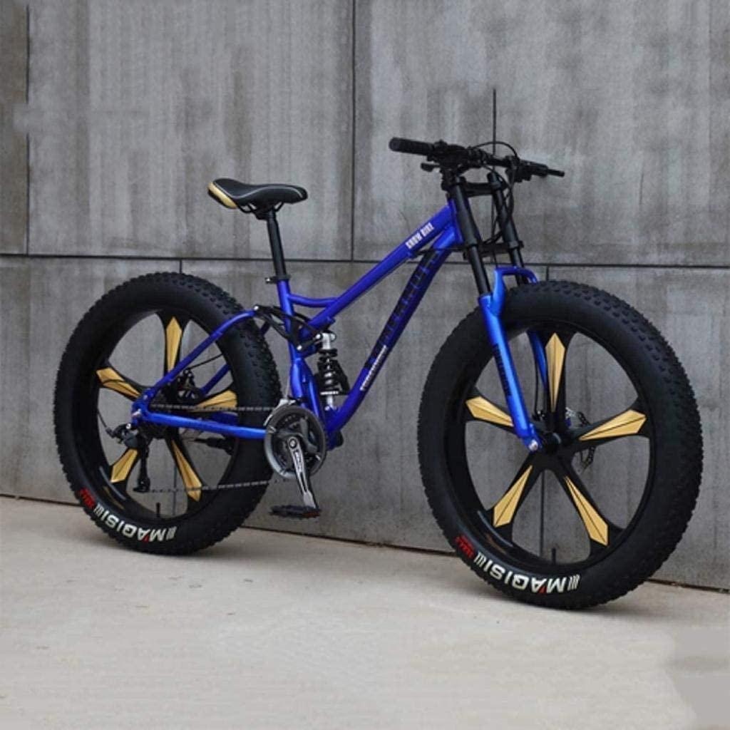 CSS Bicycle,Mountain Bike, 26 inch 7/21/24/27 Speed Bike, Men Women Student Variable Speed Bike, Fat Tire Mens Mountain Bike 6-24,27 Speed