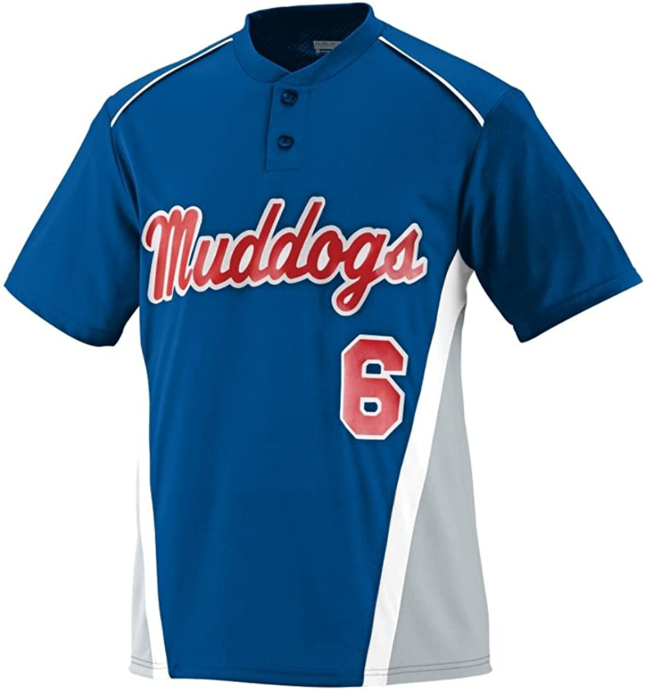 RBI Jersey-ROYAL AND SILVER
