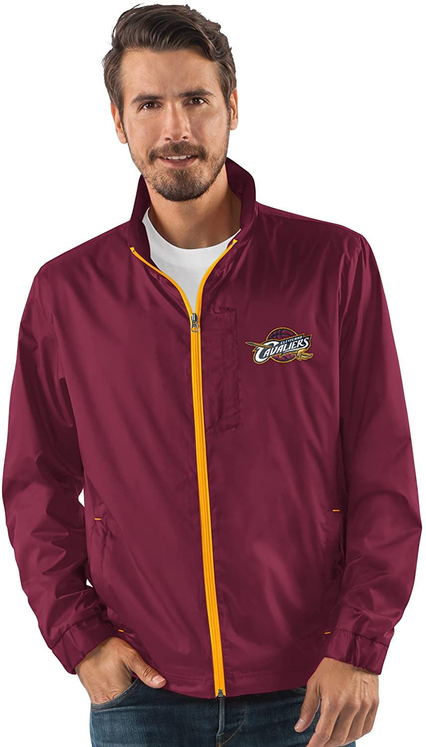 G-III Sports NBA Mens Breaker Full Zip Jacket