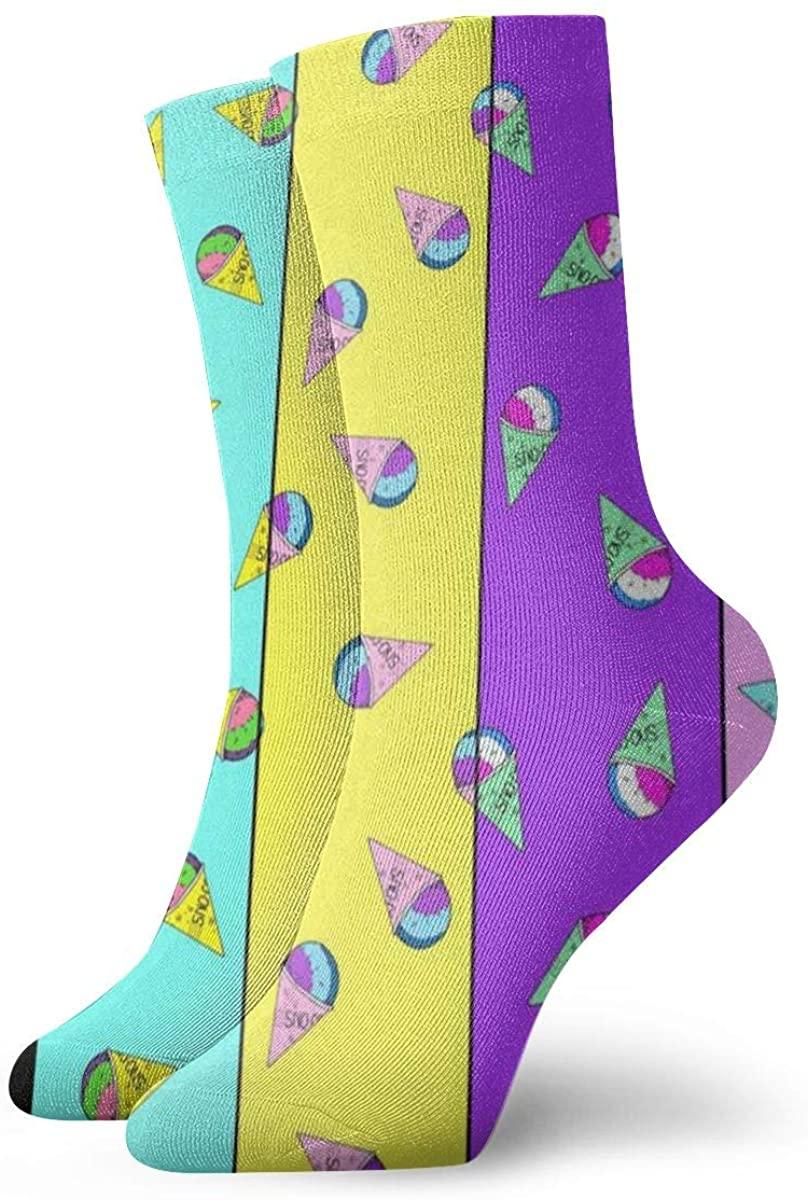 Game Life Crew Socks Snow Cone Men Women Sock Casual Socks