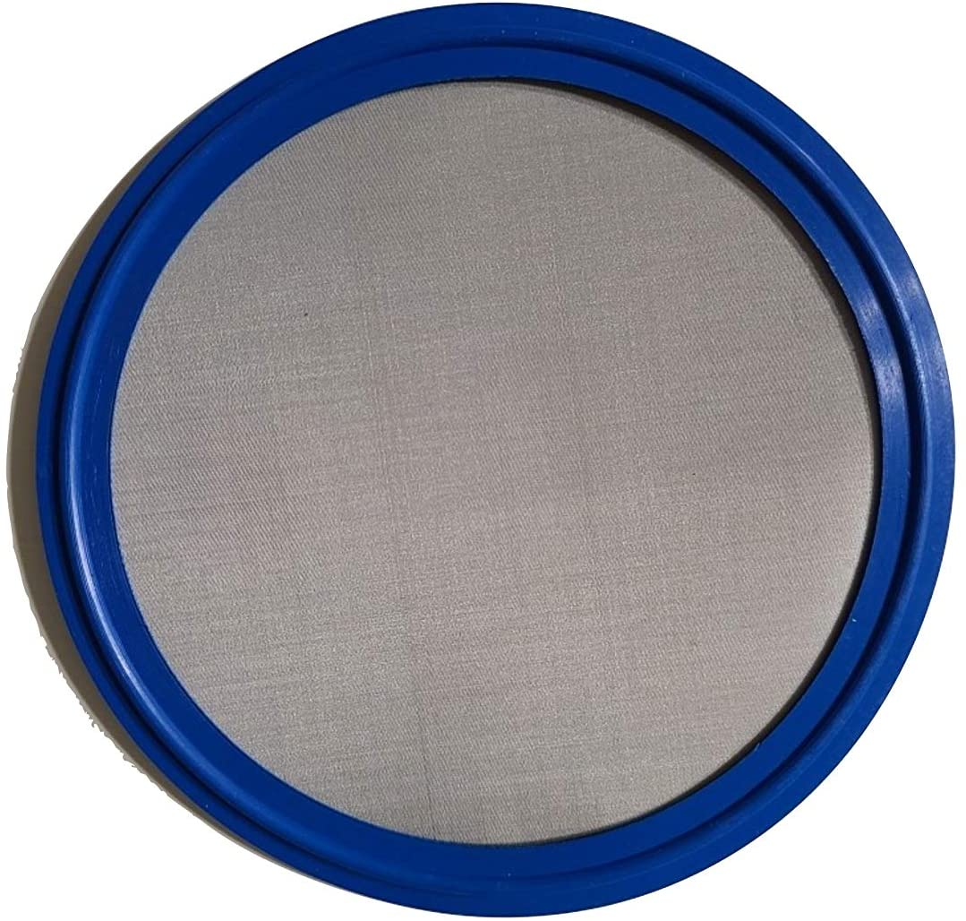 ARTESIAN SYSTEMS 5 Micron VITON/FKM Tri Clamp Screen Filter Gasket 316L (20Uf Micron/625Mesh) Stainless Steel Pharmaceutical Grade Filter Mesh. VITON With & FDA Certification (4