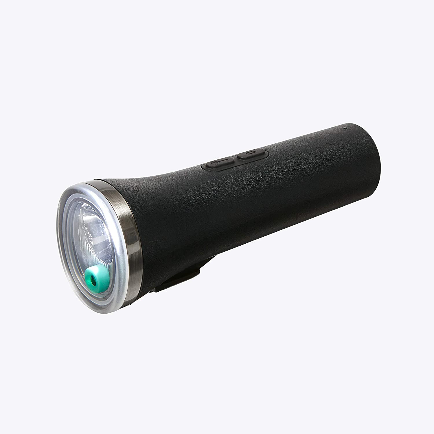 BERYL Laserlight Core Safety Bicycle Light - Green Laser Bicycle Image - 400 Lumen White Light - Day Flash - Up to 41 Hour on a Single Charge - Tool Free Bracket