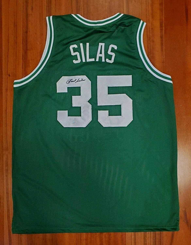Paul Silas Autographed Jersey - JSA Certified - Autographed NBA Jerseys