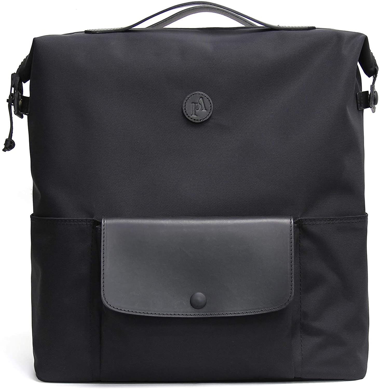 Practico Arte. hge Brompton Backpack(for M&P bar) Black, w/Frame, Bag, Handmade in Seoul, Korea