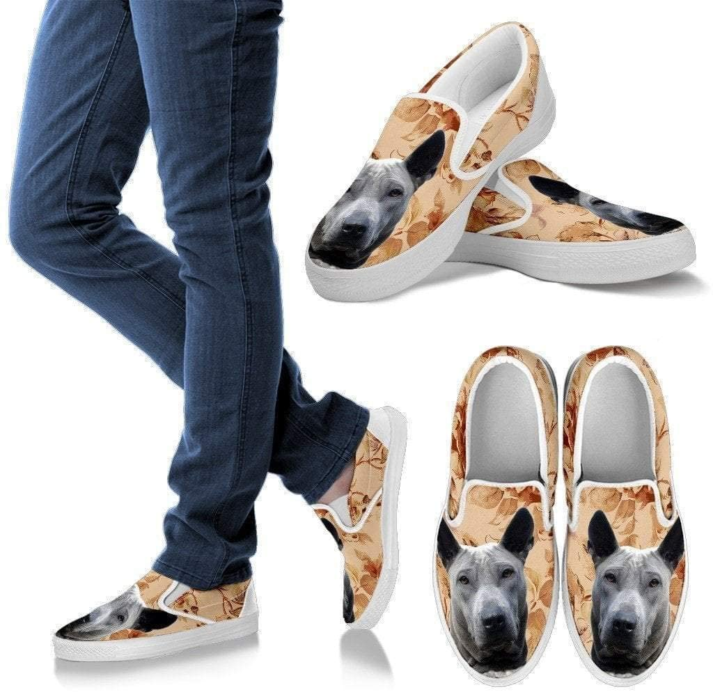 Paws With Attitude Thai Ridgeback Dog Print Slip Ons for Women-Express Shipping