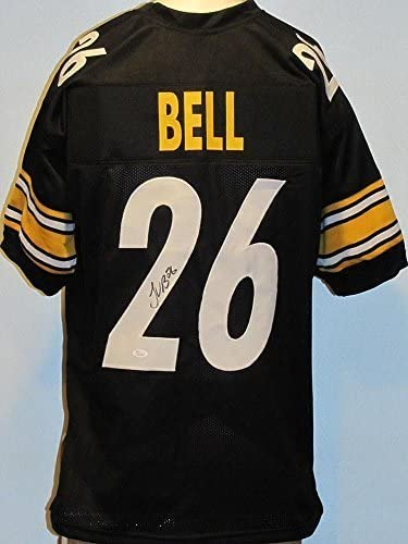 Leveon Bell Autographed Signed Steelers Black Jersey