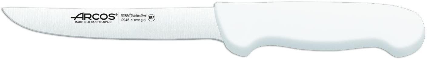 Arcos 2900 Range Boning Knife, 6-1/2-Inch, White