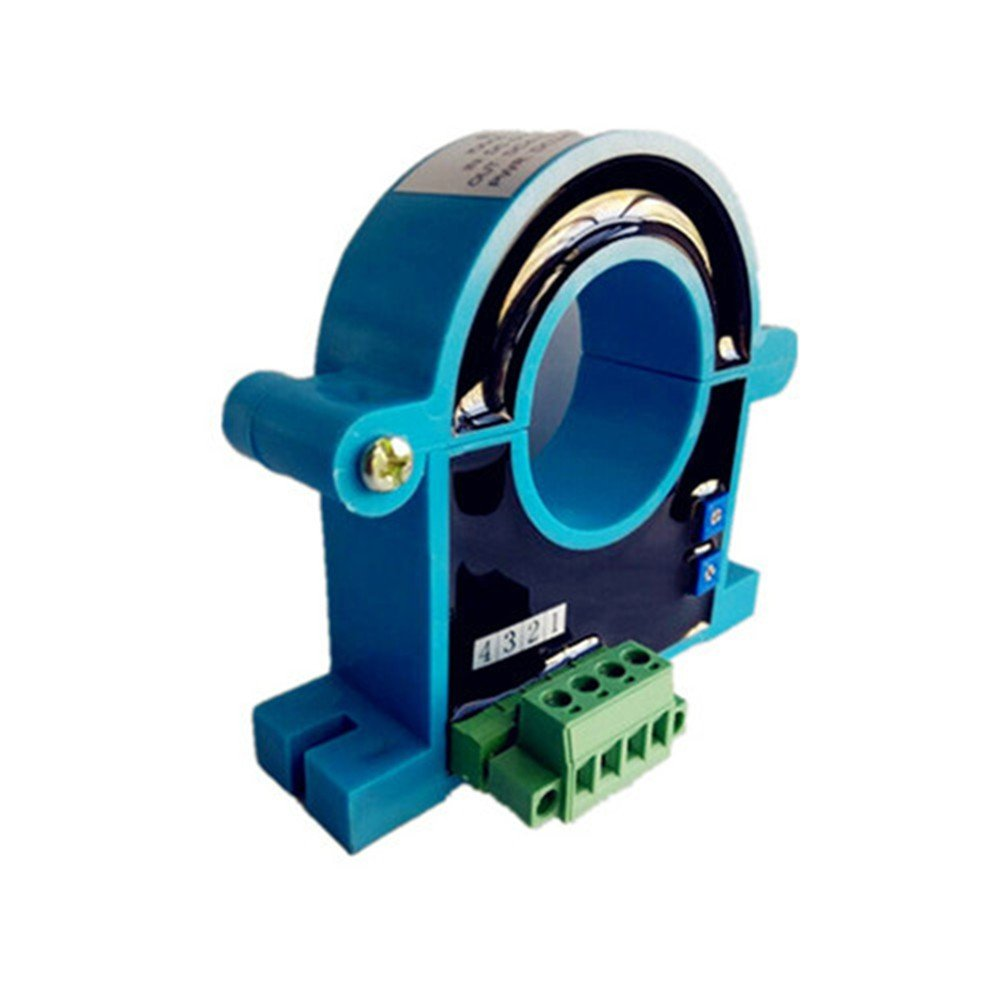 Loulensy AC Current Transformer Signal-transducer Split Core Input 0-1500A AC Output 0-10V DC