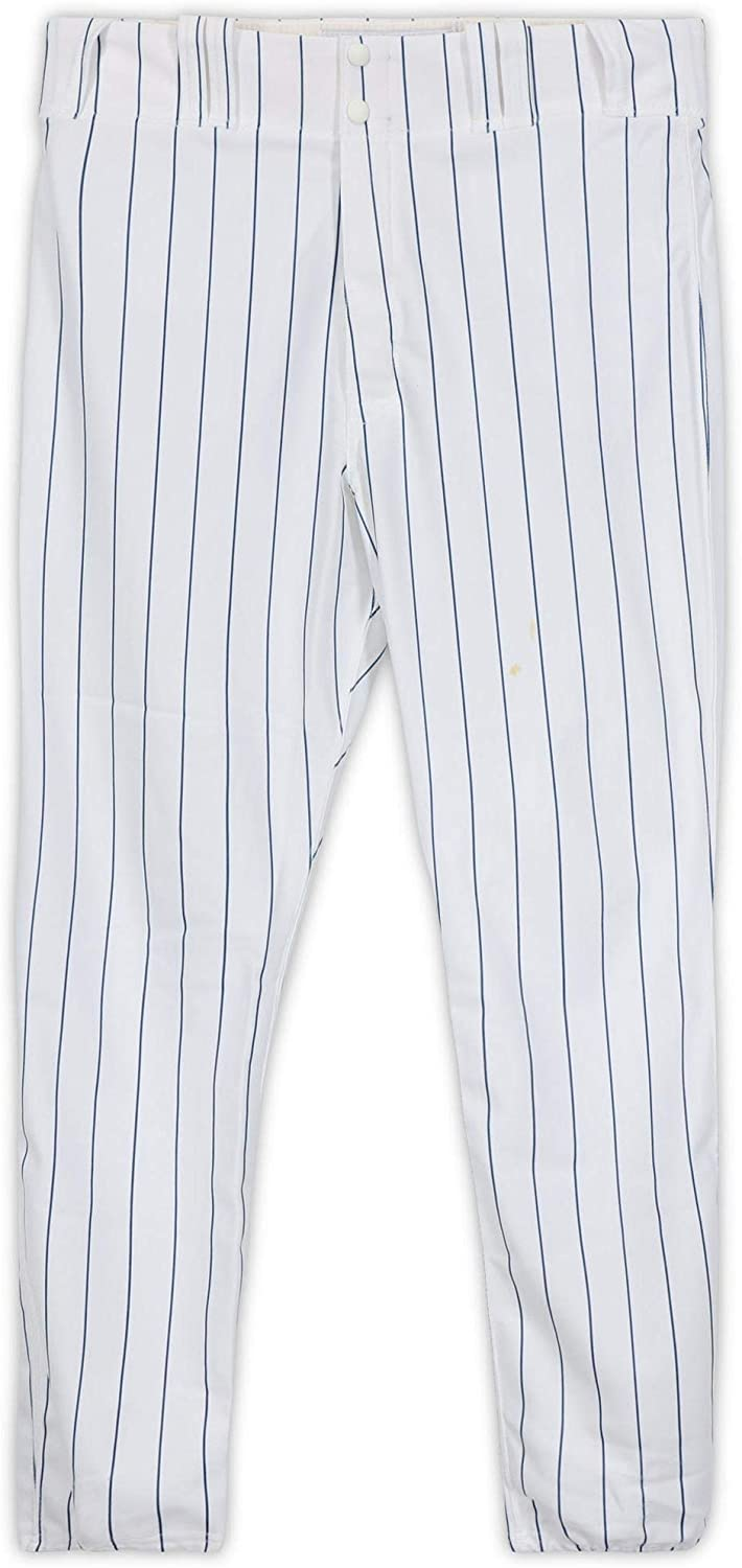 Pat Listach Chicago Cubs Game-Used White Pants from Spring Training of the 2011 MLB Season - Fanatics Authentic Certified