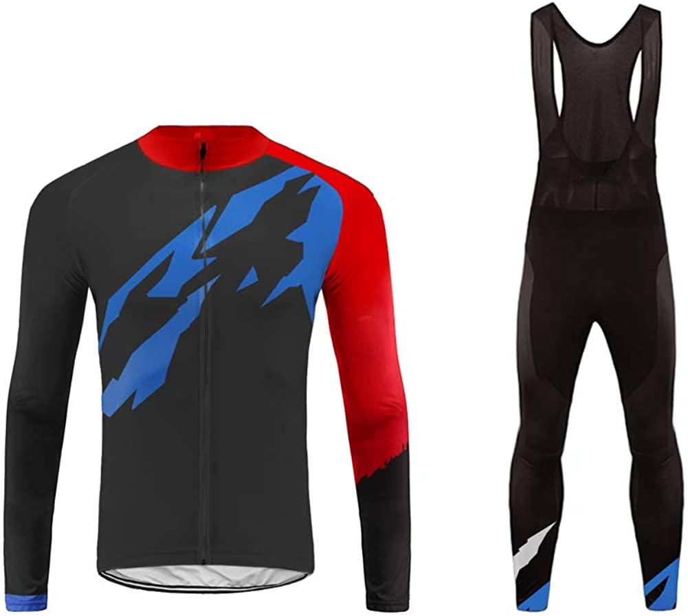 Uglyfrog Winter Fleece Mountain Bike Jersey Long Bib Pant Set Comfortable/Top