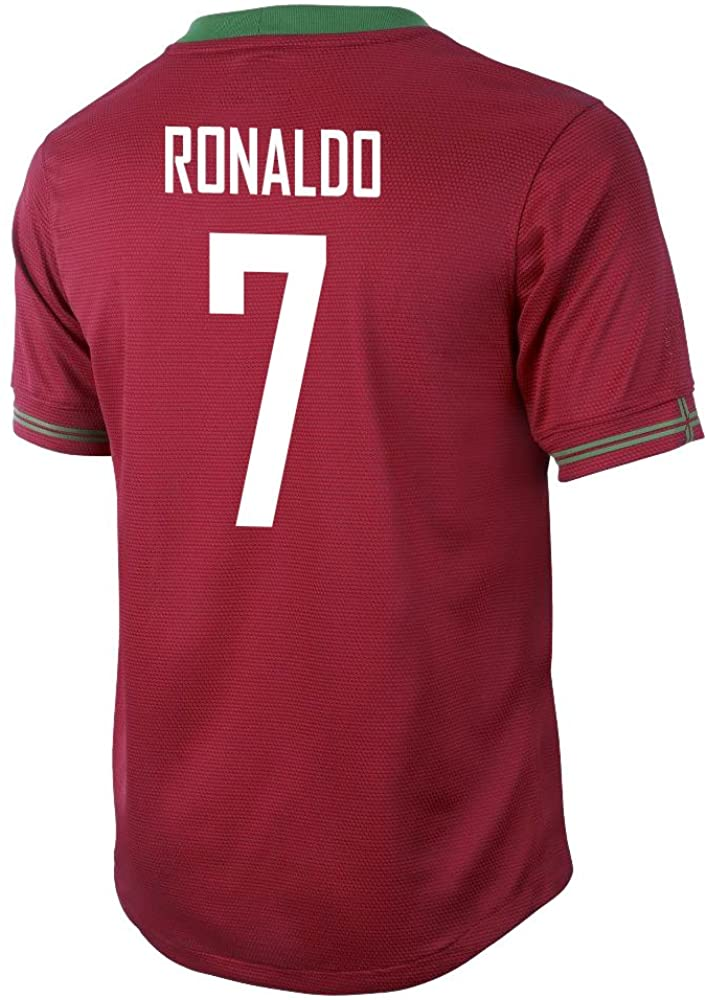 Ronaldo #7 Portugal Home Jersey Youth.