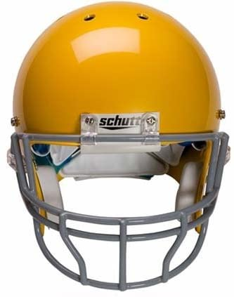 Schutt Grey Reinforced Oral Protection (OPO-XL) Full Cage Football Helmet Face Guard from