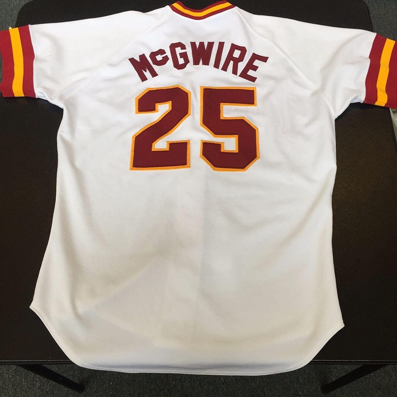RARE Mark McGwire Game Used USC Trojans Jersey University Southern California - MLB Game Used Jerseys