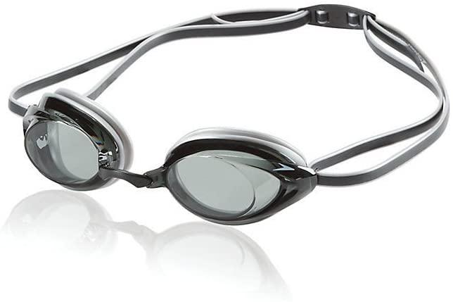 Simply Silver Swimming Goggle - Speedo Vanquisher 2.0 Anti-Fog Swim Swimming Competition Pool Sport Goggle Smoke