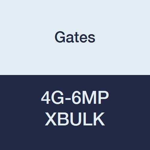 Gates 4G-6MP XBULK MegaCrimp Couplings, Male Pipe, Zinc Plated Carbon Steel, 2.17