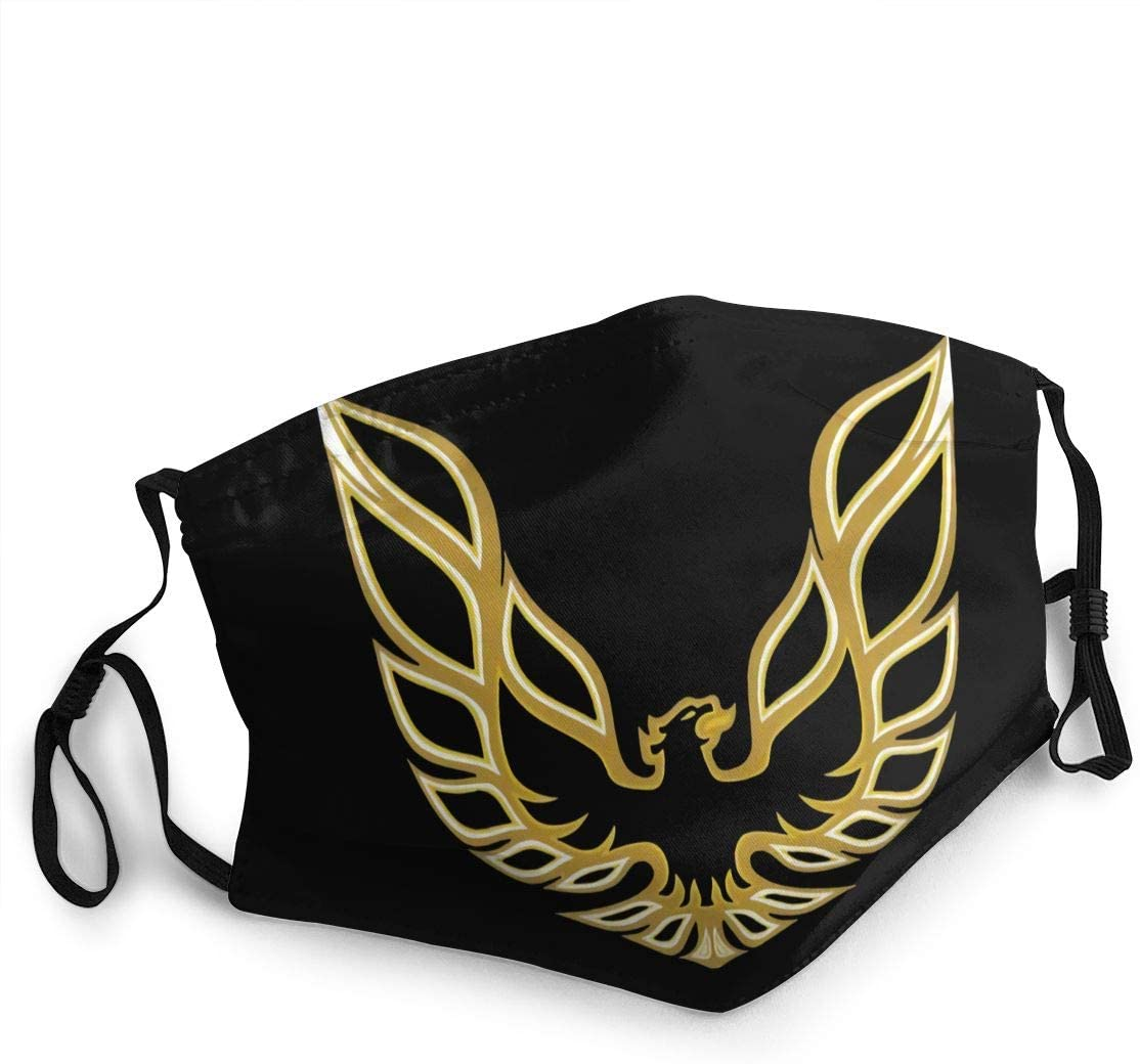 Trans Am Firebird Logo Face Cover Fashion Anti- Face Mouth Cover Windproof Adjustable Washable Cover for Outdoor Sports