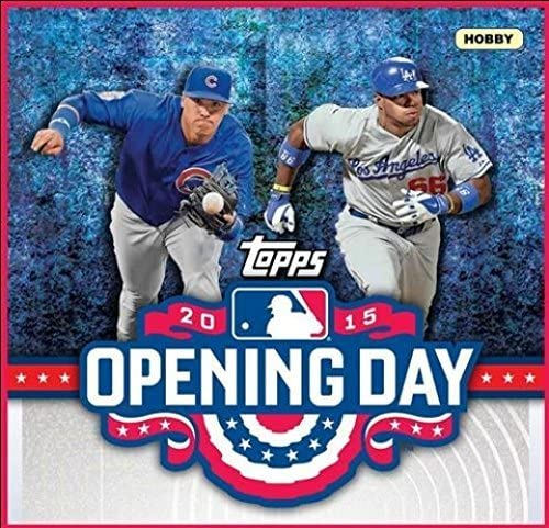 2015 Topps Baseball Opening Day - Complete Card Set of 200 Cards (Hand Collected)