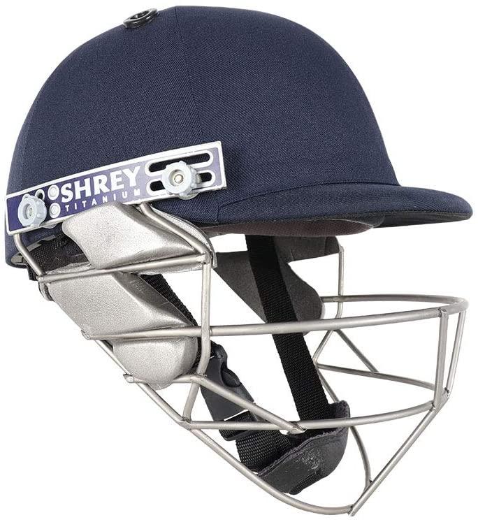 WHITEDOT SPORTS Shrey Pro Guard Titanium Visor Cricket Helmet Size Medium