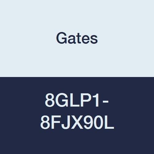 Gates 8GLP1-8FJX90L GLP Couplings, Female JIC 37 Flare Swivel, 90 Bent Tube, 1/2